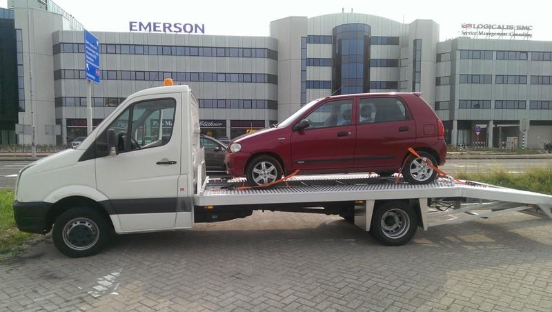 car transport door Rosa